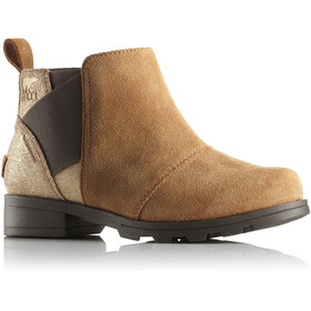 Sorel Emelie Chelsea Boots Youth Camel Brown/Cordovan